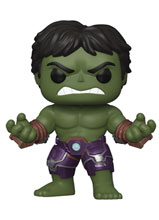 Image: Pop! Games Vinyl Figure: Avengers Game - Hulk  (Stark Tech Suit) - Funko