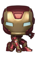 Image: Pop! Games Vinyl Figure: Avengers Game - Iron Man  (Stark Tech Suit) - Funko