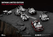 Image: Batman Special Edition Pull Back Car Set  - Beast Kingdom Co., Ltd