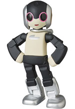 Image: Robi UDF Figure: Series Robi 2  (Silver) - Medicom Toy Corporation