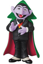 Image: Sesame Street UDF Series 2 Figure: Count Von Count  - Medicom Toy Corporation