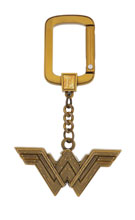Image: DC Logo Pewter Key Ring: Wonder Woman  - Monogram Products