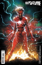 Image: Future State: The Flash #1 (variant card stock cover - Kaare Andrews) - DC Comics