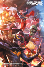 Image: Future State: Suicide Squad #1 (variant card stock cover - Derrick Chew) - DC Comics
