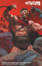 Image: Future State: Superman: Worlds of War #1 (variant card stock cover - Riccardo Federici) - DC Comics