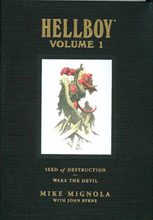 Image: Hellboy Library Edition Vol. 01: Seed of Destruction HC  - Dark Horse