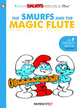 Image: Smurfs Vol. 02: The Smurfs and Magic Flute HC  - Papercutz