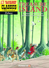 Image: Classics Illustrated Deluxe Vol. 05: Treasure Island HC  - Papercutz