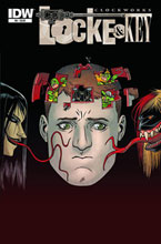Image: Locke & Key: Clockworks #4 - IDW Publishing