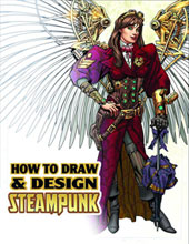Image: How to Draw & Design Steampunk Supersize SC  - Antarctic Press