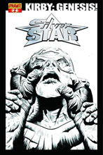 Image: Kirby: Genesis Silver Star #2 (15-copy B&W incentive cover) - D. E./Dynamite Entertainment