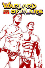 Image: Warlord of Mars #15 (20-copy Sadowski red incentive cover) - Dynamite