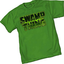 Image: Swamp Thing Logo T-Shirt  (L) - Graphitti Designs