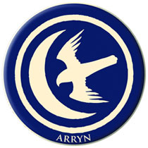 Image: Game of Thrones Embroidered Patch: Arryn  - Dark Horse Comics