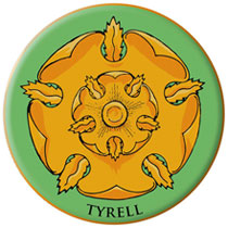 Image: Game of Thrones Embroidered Patch: Tyrell  - Dark Horse Comics