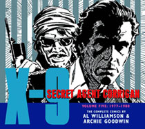 Image: X-9: Secret Agent Corrigan Vol. 05: 1977-1980 HC  - IDW Publishing