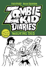 Image: Zombie Kid Diaries Vol. 03: Walking Dad SC  - Antarctic Press