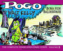 Image: Pogo Complete Syndicated Strips Vol. 02: Bona Fide Balderdash 1951-1952 HC  - Fantagraphics Books
