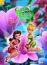Image: Disney Fairies Vol. 10: Tinker Bell and the Lucky Rainbow HC  - Papercutz