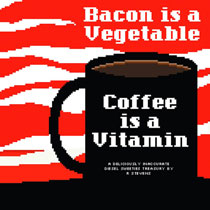 Image: Diesel Sweeties: Bacon is a Vegetable, Coffee is a Vitamin SC  - Oni Press Inc.