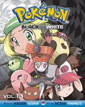 Image: Pokemon Black & White Vol. 13 SC  - Perfect Square