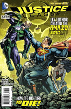 Image: Justice League #37 - DC Comics
