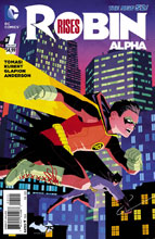 Image: Robin Rises: Alpha #1 (variant cover - Cliff Chiang) - DC Comics