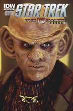 Image: Star Trek #40 (Quark photo subscription cover) - IDW Publishing