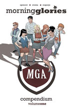 Image: Morning Glories Compendium Vol. 01 SC  - Image Comics