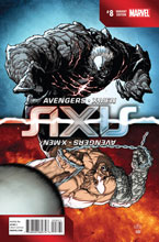 Image: Avengers and X-Men: Axis #8 (Yu Inversion variant cover - 00821) - Marvel Comics