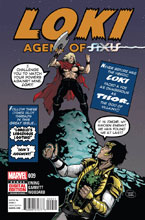 Image: Loki: Agent of Asgard #9 - Marvel Comics