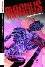 Image: Magnus Robot Fighter #10 (cover A - Lau) - Dynamite