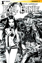 Image: Evil Ernie Vol. 02 #3 (variant incentive cover - Seeley B&W) (10-copy) - Dynamite