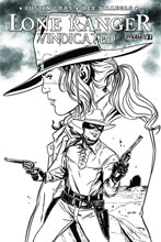 Image: Lone Ranger: Vindicated #2 (variant incentive cover - Laming) (10-copy) - Dynamite