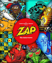 Image: Comics Journal Library Vol. 09: Zap - The Interviews SC  - Fantagraphics Books