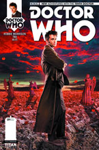 Image: Doctor Who: The 10th Doctor #9 (cover B - photo subscription) - Titan Comics