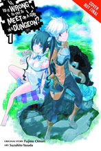 Image: Is It Wrong Try Pick Up Girls in Dungeon? Novel  - Yen Press
