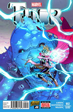 Image: Thor #2 (variant 2nd printing cover - Russell Dauterman) - Marvel Comics
