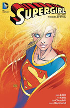 Image: Supergirl Vol. 01: The Girl of Steel SC  - DC Comics