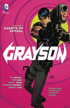 Image: Grayson Vol. 01: Agents of Spryal SC  - DC Comics