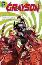 Image: Grayson Vol. 02: We All Die at Dawn SC  - DC Comics