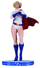 Image: DC Comics Cover Girls Statue: Power Girl  - DC Comics