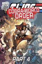 Image: G.I. Joe: A Real American Hero: Cobra World Order Part 04 #222 - IDW Publishing