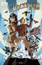 Image: Rocketeer at War #1 - IDW Publishing