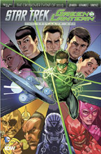 Image: Star Trek / Green Lantern #6 (cover A - Mooney) - IDW Publishing