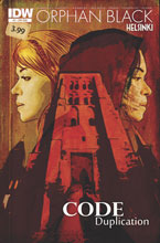 Image: Orphan Black: Helsinki #2 (subscription cover) - IDW Publishing