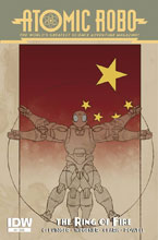 Image: Atomic Robo and the Ring of Fire #4 - IDW Publishing