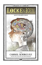 Image: Locke & Key: Shades of Terror Adult Coloring Book  - IDW Publishing