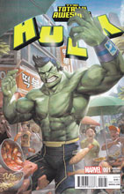 Image: Totally Awesome Hulk #1 (Cheol variant cover - 00161) - Marvel Comics