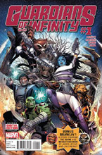 Image: Guardians of Infinity #1 - Marvel Comics